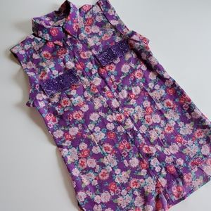 Candies button down size small